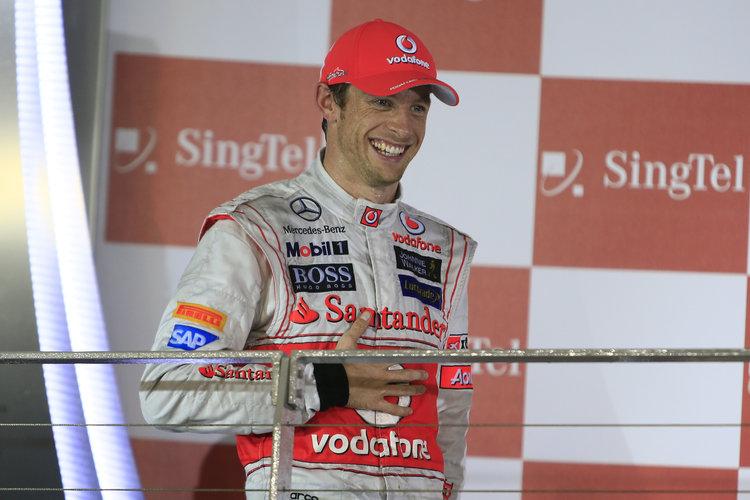 Jenson Button at Singapore GP *** Local Caption *** +++ www.hoch-zwei.net +++ copyright: HOCH ZWEI +++ Credit: McLaren Media Centre