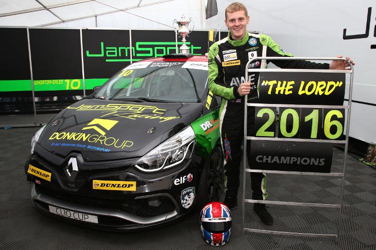 Ant Whorton-Eales - 2016 Renault UK Clio Cup Champion - Credit: Jakob Ebrey Photography