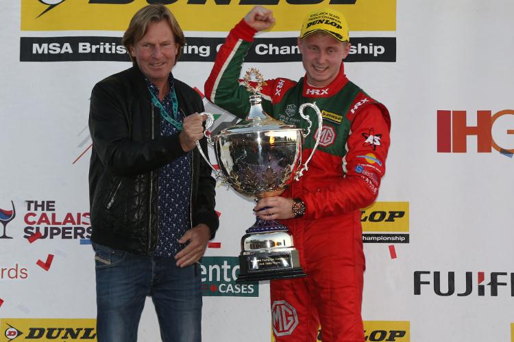 Ashley Sutton – 2016 Dunlop MSA British Touring Car Championship 'Jack Sears Trophy' Champion