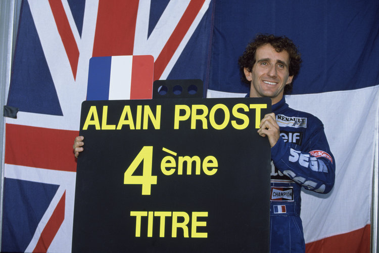 Estoril, Portugal, 24th - 26th September 1993, RD14. Alain Prost. Photo: LAT Photographic/Williams F1. Credit: Williams Martini Racing