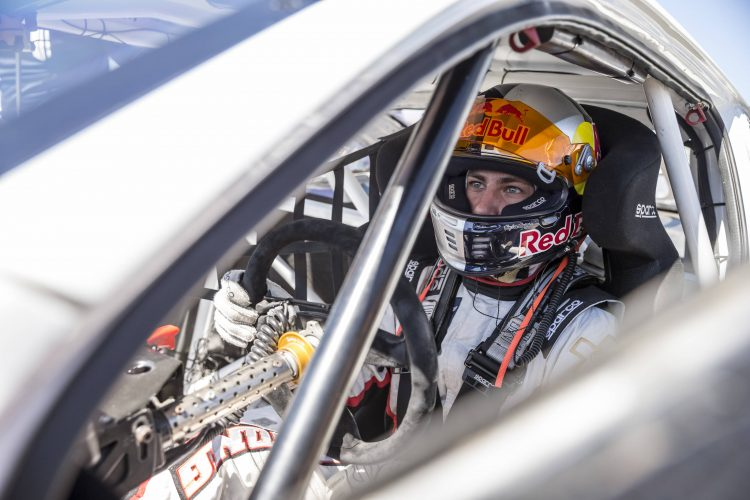 Former Lites champion Mitchell DeJong was impressive on his Supercars début - Credit: Chris Tedesco/Red Bull Content Pool