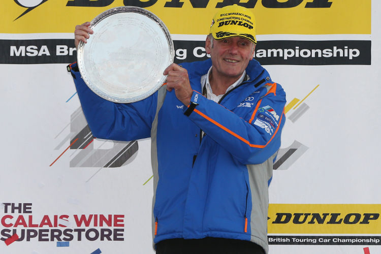West Surrey Racing/Team JCT600 with GardX – 2016 Dunlop MSA British Touring Car Championship Manufacturers/Constructors & Teams' Champions