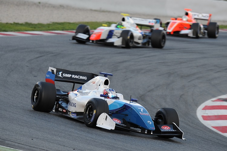 Egor Orudzhev won five times in 2016 to help Arden to the Teams' title - Credit: Formula V8 3.5