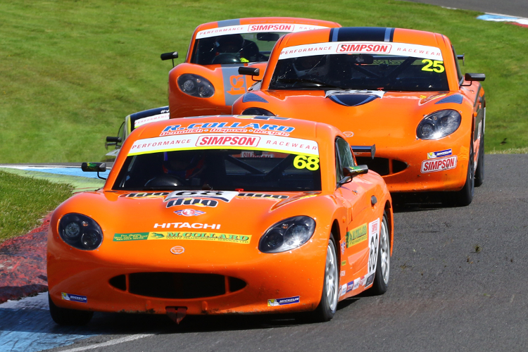 Two Of Collard's Three Overall Top Ten Finishes This Season Came At Knockhill - Credit: Jakob Ebrey Photography