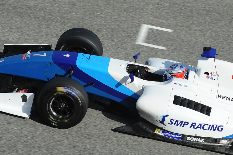 Egor Orudzhev took the most wins in the season with five - Credit: Formula V8 3.5