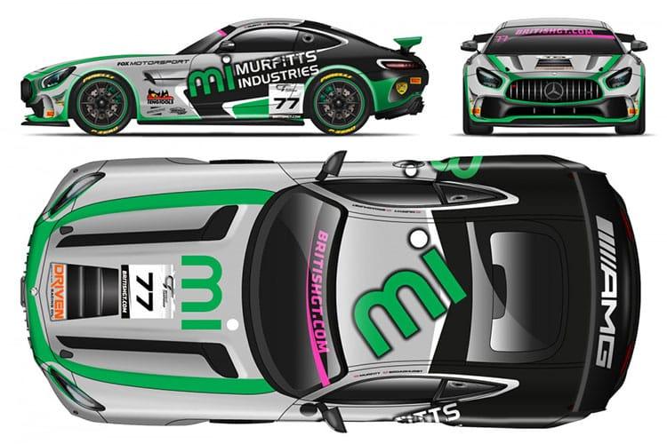 Fox Motorsport Mercedes-AMG GT4