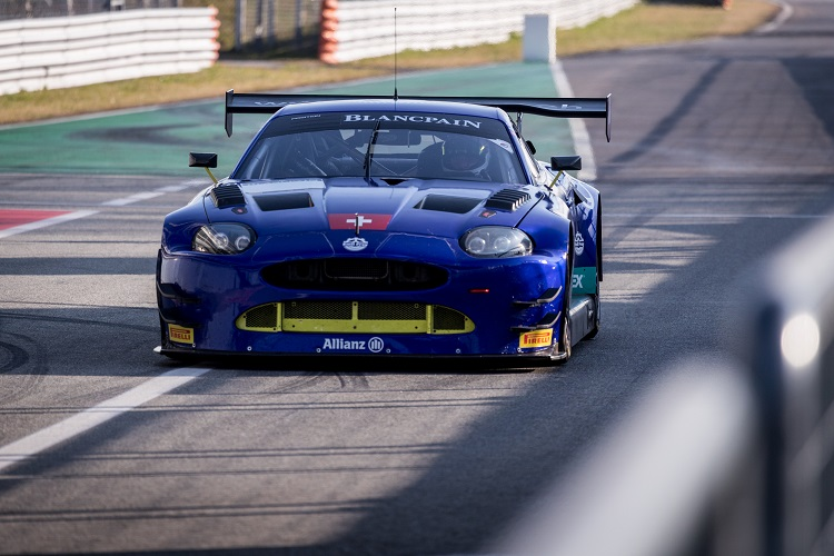 The GT3 Jaguar had a positive test programme across three circuits
