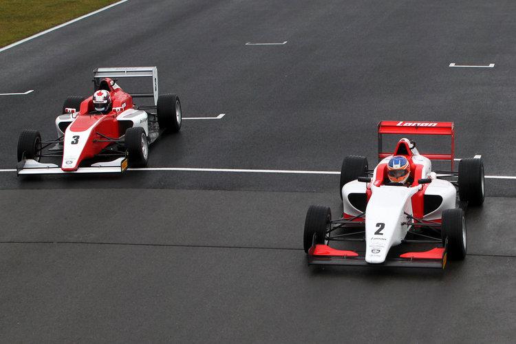 Ben Hurst (CAN) - Kush Maini (IND) Lanan Racing BRDC British F3