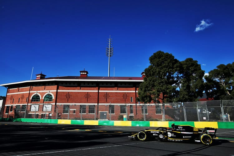 Renault will start seventh and ninth on Sunday