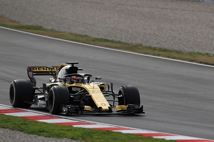 Carlos Sainz Jr. completed just forty-five laps on Friday