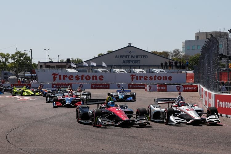 1st lap, IndyCar - Firestone Grand Prix of St. Petersburg, 2018