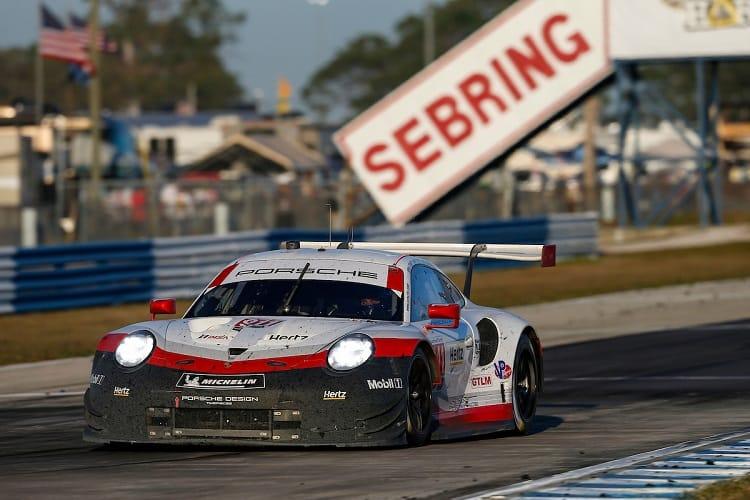 The #911 Porsche won the GT Le Mans class
