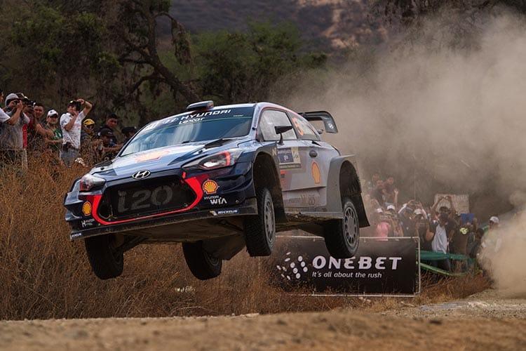 Rally Mexico 2017 - Hyundai