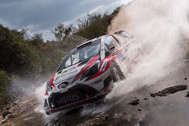 Rally Mexico 2017 - Toyota