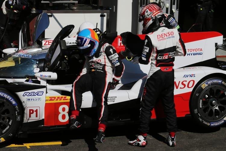 Fernando Alonso (ESP) and Kazuki Nakajima (JPN) TOYOTA GAZOO Racing. World Endurance Championship 6 Hours of Spa. 2nd to 5th May 2018 Spa Francorchamps, Belgium.