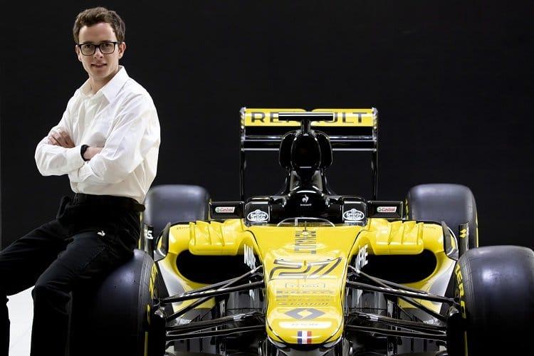 Anthoine Hubert - Renault Sport Affiliated Driver