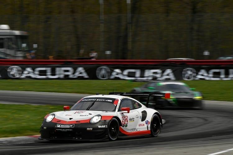 Earl Bamber/Laurens Vanthoor - Porsche GT Team