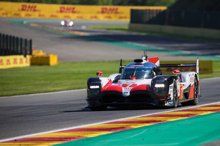 Front row class lock outs for Toyota Gazoo Racing and Ford Chip Ganassi TEam UK ahead of the first World Endurance Championship race of the season