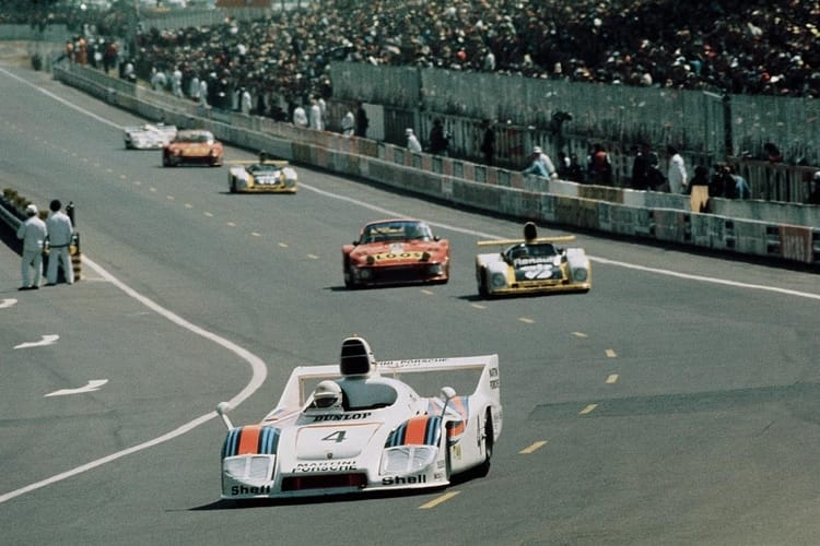 Jacky Ickx Porsche 936