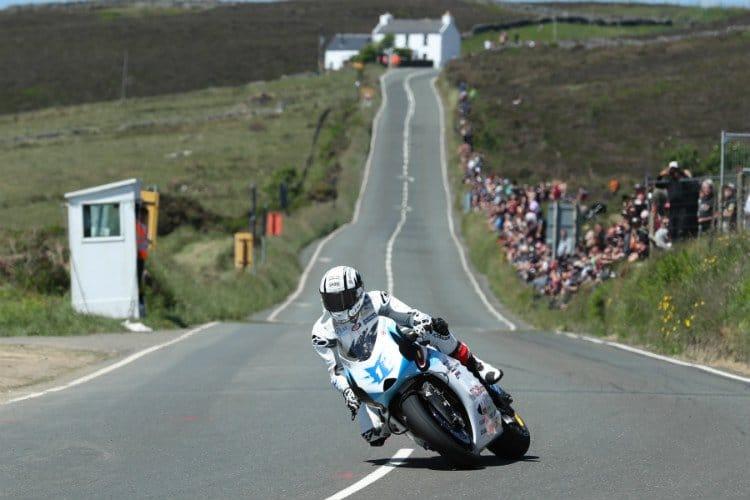 Michael Rutter wins TT Zero Race
