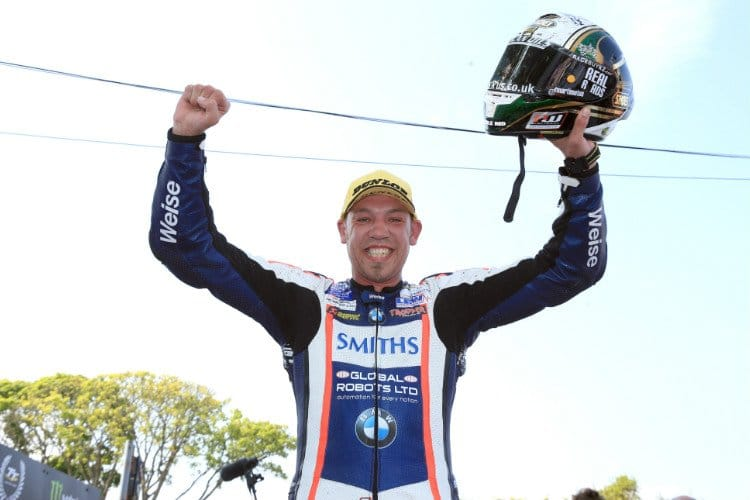 Peter Hickman takes maiden Isle of Man TT Victory