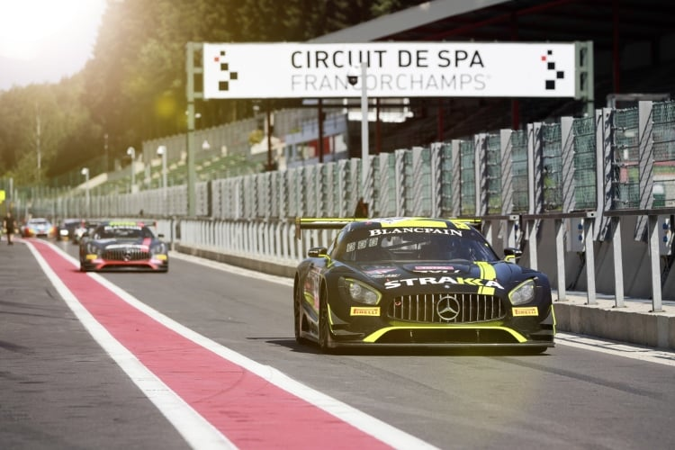 Testtag Spa: STRAKKA Racing #42