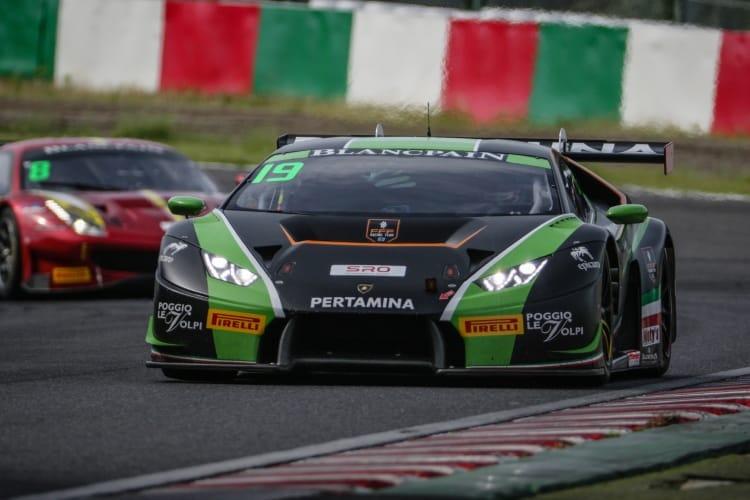 Suzuka 2018 - Blancpain GT Series Asia #19 FFF Racing Lamborghini Huracan