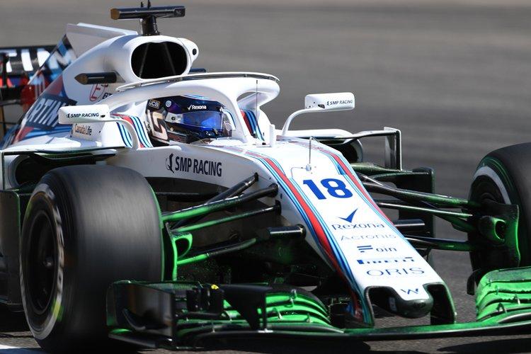 Lance Stroll - 2018 German Grand Prix Practice