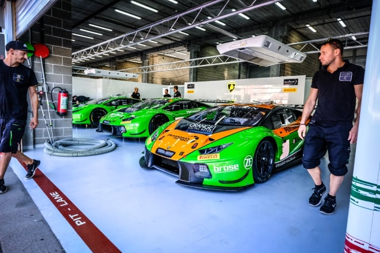 Lamborghini Huracan GT3 24 Hours of Spa