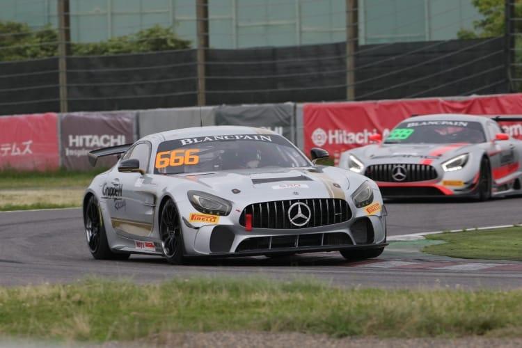 #666 GruppeM Racing Team Ryuichirou Ohtsuka Reinhold Renger Mercedes-AMG GT4 Suzuka 2018   Blancpain GT Series Asia
