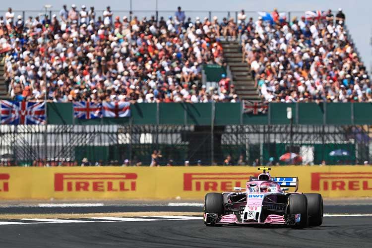 Sahara Force India - Esteban Ocon - British GP - Silverstone - 2018 Formula 1