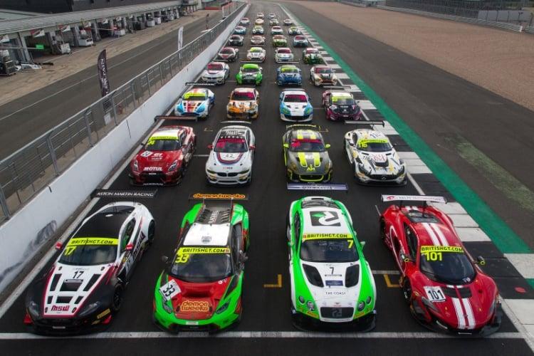 2018 British GT Group photo