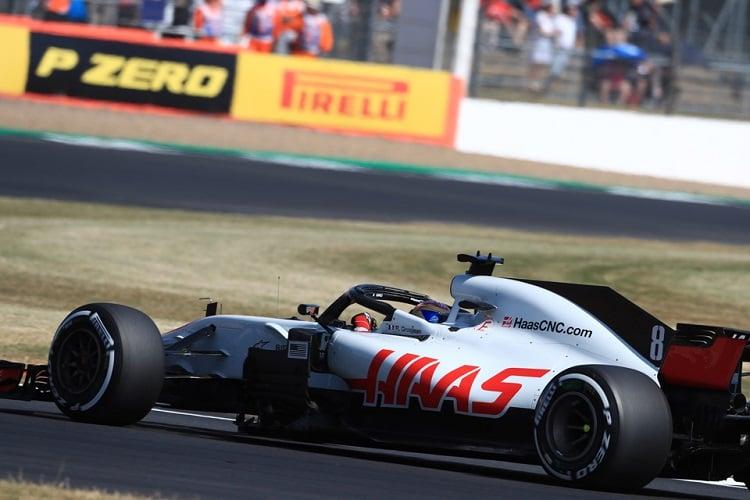Romain Grosjean - Haas F1 Team - Silverstone