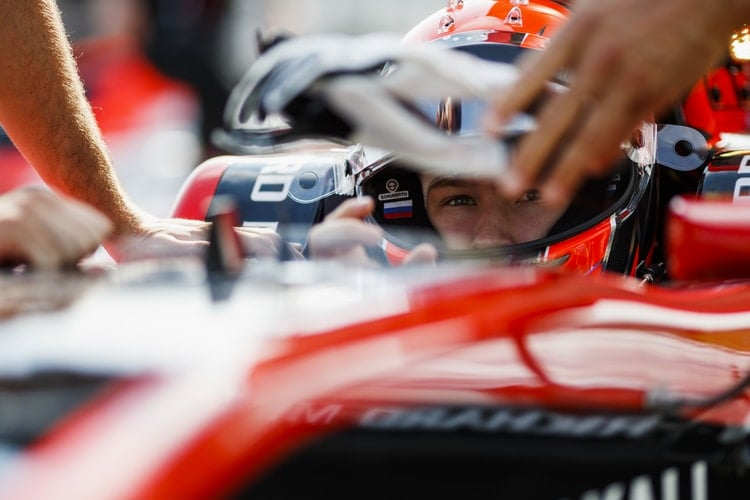 Nikita Mazepin: 2018 GP3 Series - Hungaroring