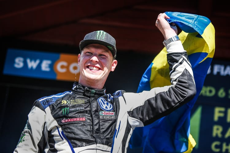 Johan takes victory in Sweden