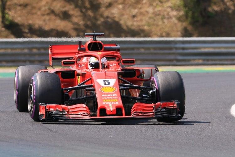 Sebastian Vettel - Formula 1 - 2018 Hungarian GP