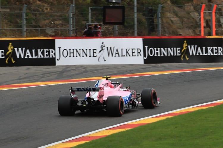 Esteban Ocon - Racing Point Force India F1 Team - Spa-Francorchamps