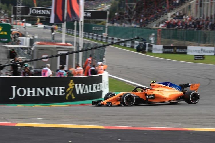 Stoffel Vandoorne - Formula 1 - 2018 Belgian GP