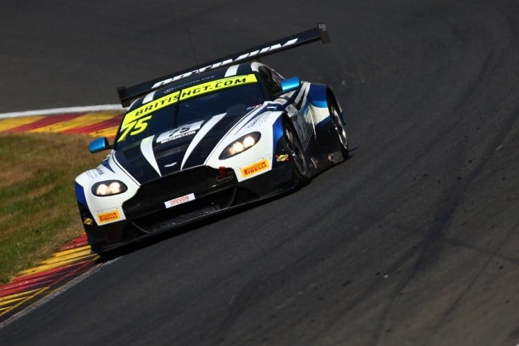 Flick Haigh / Jonny Adam Optimum Motorsport Aston Martin Vantage V12 Vantage GT3 | British GT
