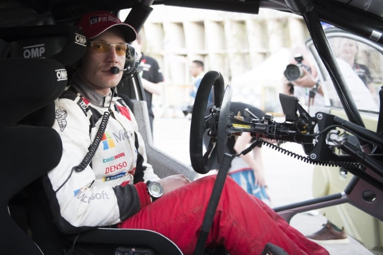 Jari-Matti Latvala (FIN) seen during FIA World Rally Championship 2018 in Leon, Mexico on 10.03.2018