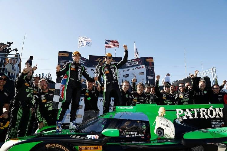 Luis Felipe Derani & Johannes van Overbeek - Tequila Patron ESM - Continental Monterey Grand Prix - Laguna Seca