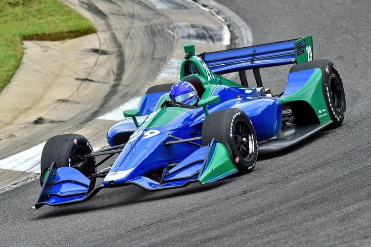 Fernando Alonso (ESP), Andretti Autosport, 2018 Verizon IndyCar Series, Barber Motorsports Park