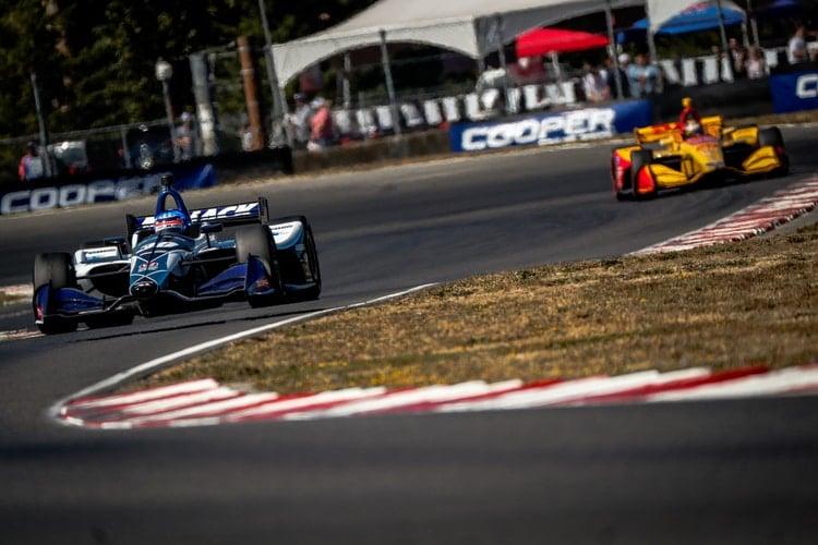 Takuma Sato (JAP), Rahal Letterman Lanigan Racing / Ryan Hunter-Reay (USA), Andretti Autosport, 2018 Verizon IndyCar Series, Portland