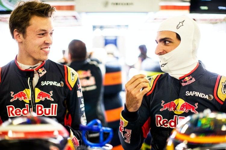 Daniil Kvyat & Carlos Sainz Jr. back in 2016 - Circuit de Barcelona-Catalunya