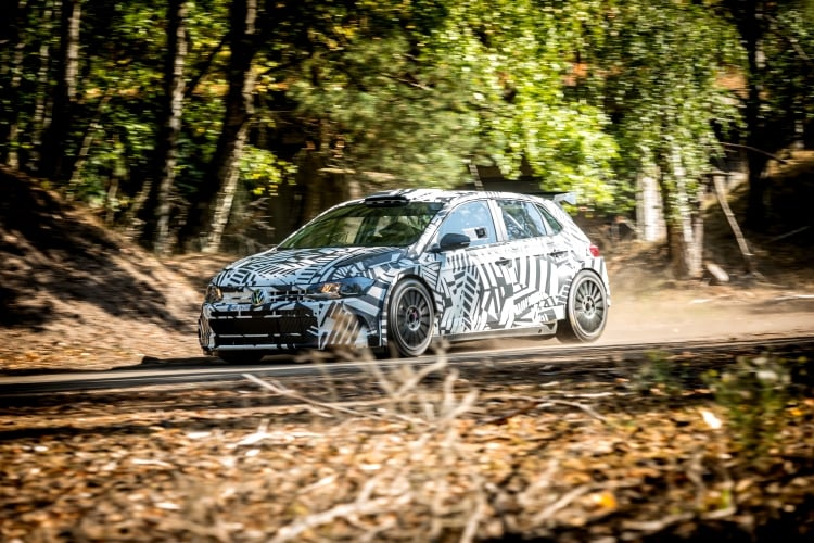 Volkswagen Motorsport presents Polo GTI R5 to first customers