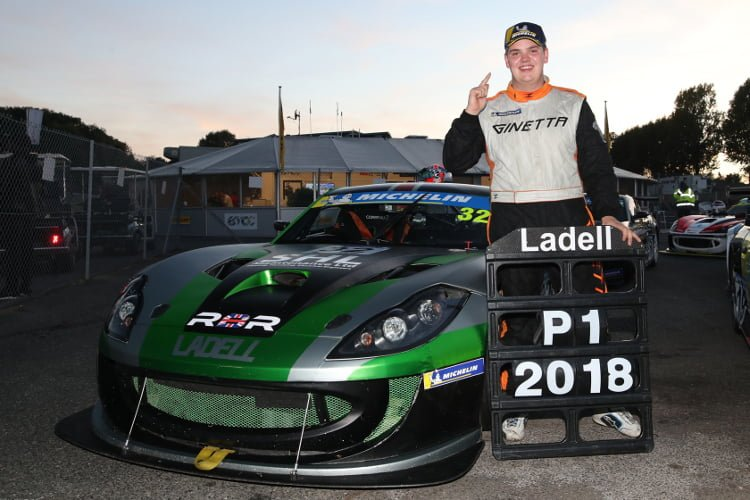 Charlie Ladell - 2018 Michelin Ginetta GT4 Supercup - Credit: Jakob Ebrey Photography