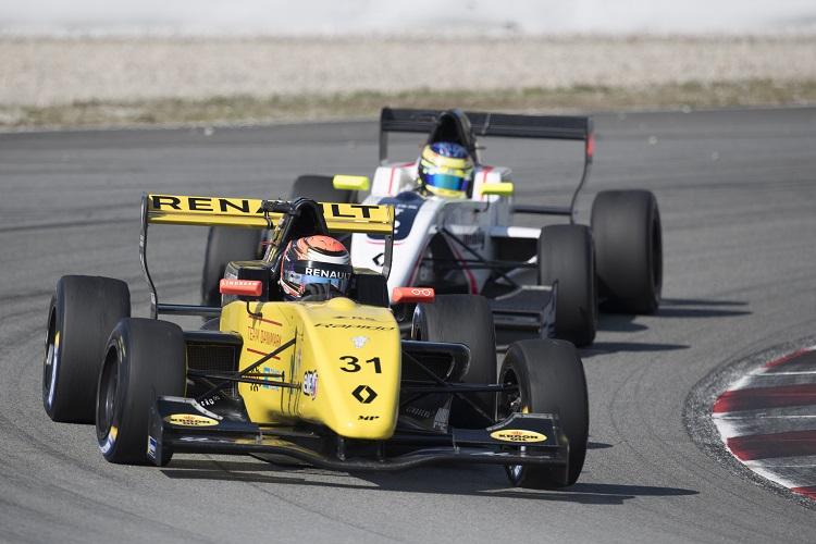 Christian Lundgaard - MP Motorsport - Circuit de Barcelona-Catalunya