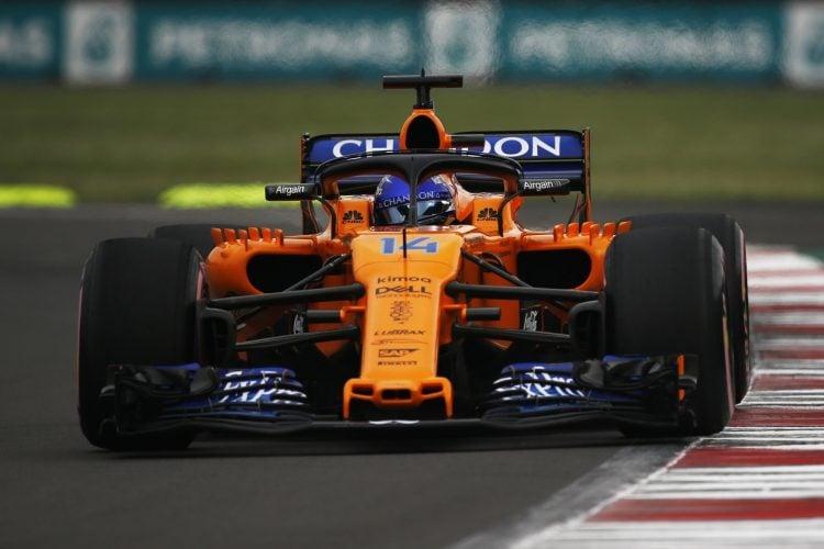 Fernando Alonso - McLaren F1 Team - Autodromo Hermanos Rodriguez