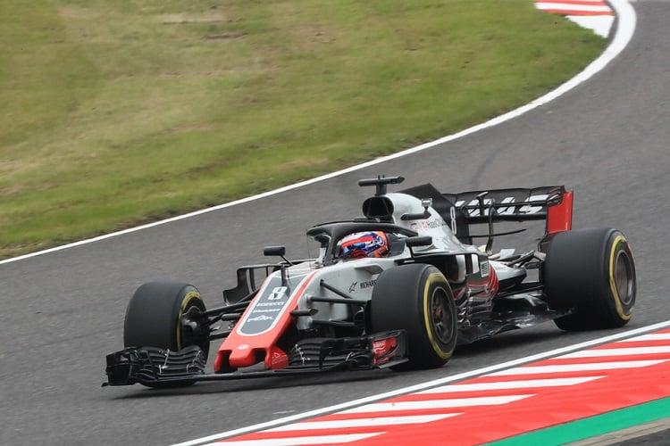 Romain Grosjean - Haas F1 Team - Suzuka International Racing Course