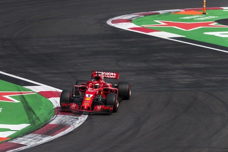Sebastian Vettel - Scuderia Ferrari - Autodromo Hermanos Rodriguez